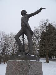 Переславль-Залесский. Памятник Петру I
