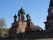 Ярославль. Церковь Владимирской иконы Божьей Матери в Коровниках