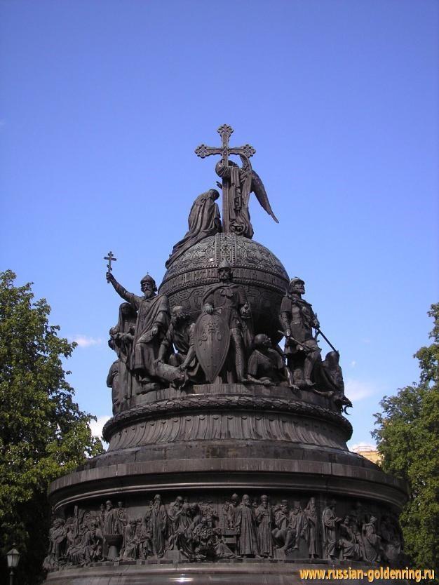 Памятник крещение руси великий новгород изготовление фото на стекле для памятников в пскове