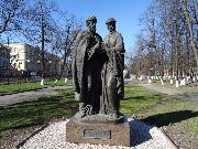 Ярославль. Памятник Петру и Февронии