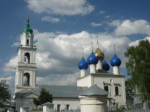 В Заволжском районе установят большой поклонный Крест.