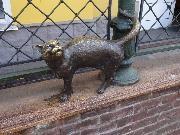 Ярославль. Скульптура Кошка