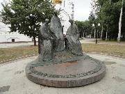 Ярославль. Скульптурная композиция Троица